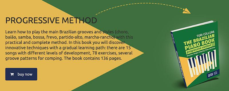 The Brazilian piano book to learn brazilian rhythm and music