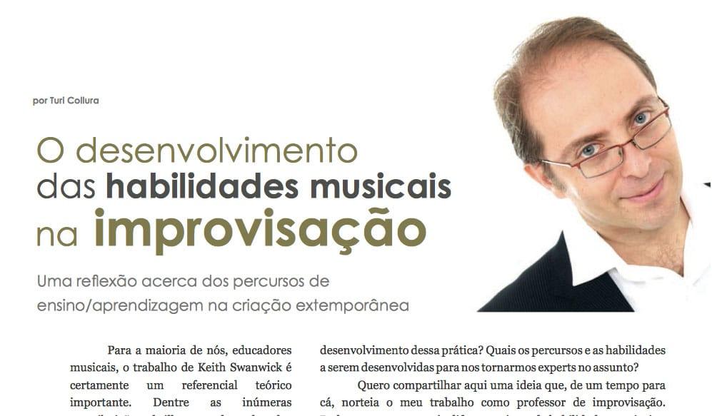 O desenvolvimento das habilidades musicais