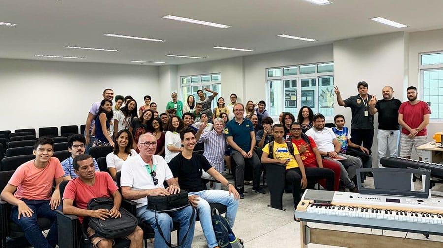 IFPB João Pessoa Oficina com Turi Collura