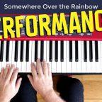 Somewhere over the rainbow piano trio turi collura