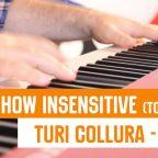 How insensitive - Tom Jobim Piano Bossa Nova from Turi Collura